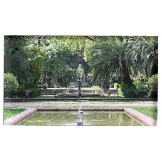 Fuente en Parque de María Luisa, Sevilla Soportes Para Tarjetas De Mesa