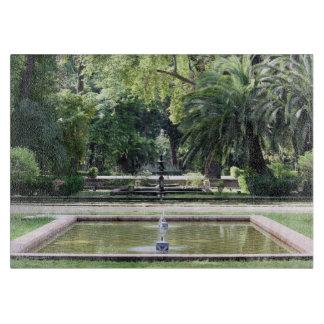 Fuente en Parque de María Luisa, Sevilla Tablas Para Cortar
