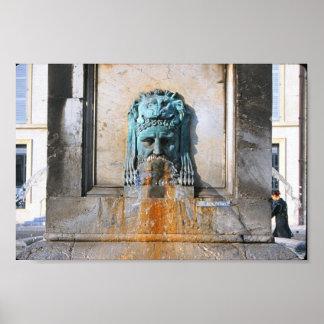 Fuente romana poster