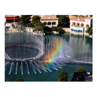 Fuentes 4, postal de Bellagion de Las Vegas