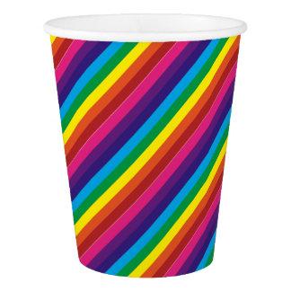 Fuentes coloridas del fiesta del modelo de las vaso de papel