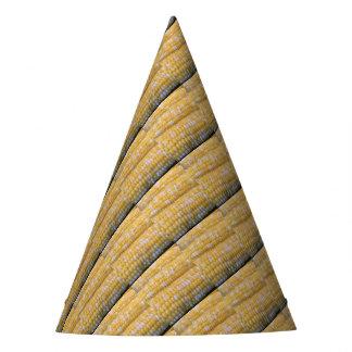 Fuentes del fiesta del maíz en la mazorca gorro de fiesta