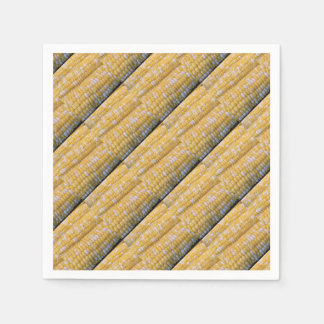 Fuentes del fiesta del maíz en la mazorca servilleta desechable