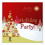 Fuentes retras del navidad Ornaments/DIY de Invitación 13,3 Cm X 13,3cm