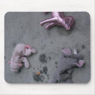 fuera de la estafa alfombrilla de ratón