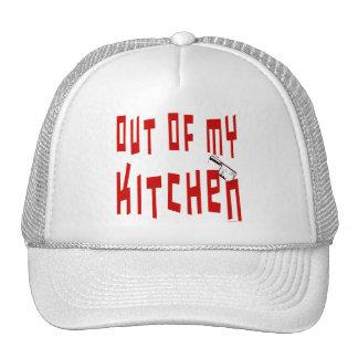 Fuera de mi decir de la cocina gorras