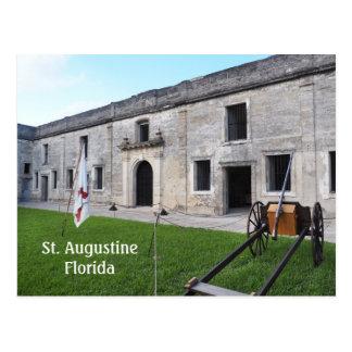 Fuerte de Castillo de San Marcos en St Augustine Postal