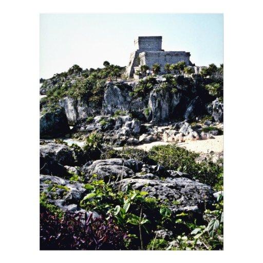 Fuerte del EL Castillo, Tulum Flyer Personalizado