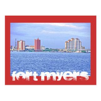 Fuerte Myers la Florida los E E U U Postales