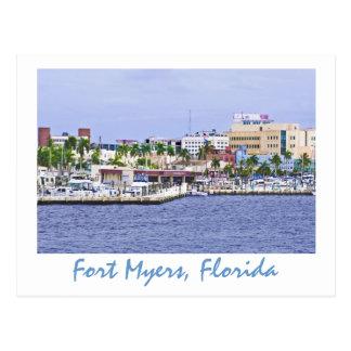 Fuerte Myers la Florida los E E U U Tarjetas Postales