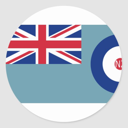 Fuerza aérea de Nueva Zelanda, bandera de Nueva Ze Pegatina