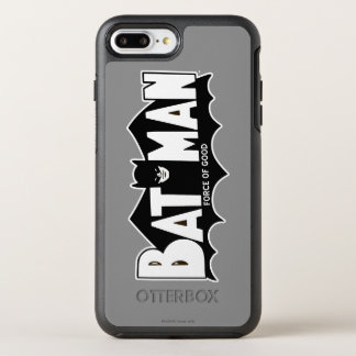 Fuerza de Batman el | del buen logotipo 60s Funda OtterBox Symmetry Para iPhone 8 Plus/7 Plus