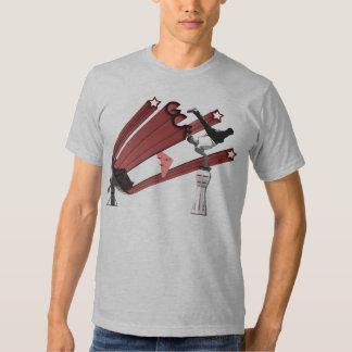 Fuerza de control de tierra camiseta