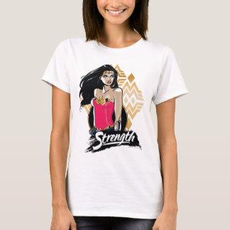 Fuerza de la Mujer Maravilla Camiseta