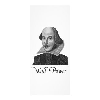 Fuerza de voluntad de William Shakespeare Lonas