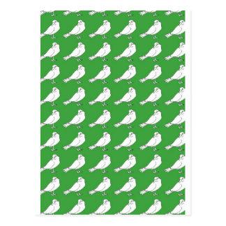Fuerza en números verdes postal