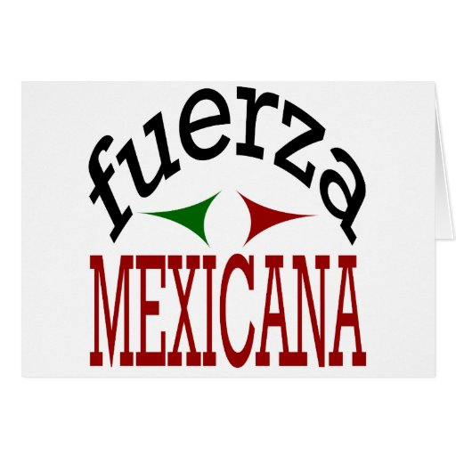 Fuerza Mexicana Tarjeta