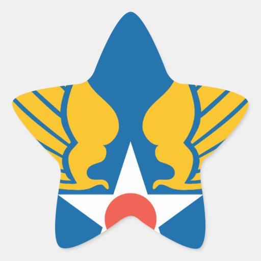 Fuerzas de Symbyan Pegatinas Forma De Estrella Personalizadas