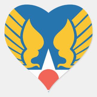 Fuerzas de Symbyan Pegatina En Forma De Corazón