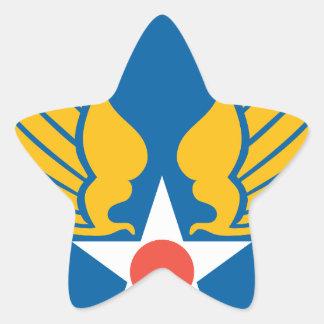 Fuerzas de Symbyan Pegatina En Forma De Estrella