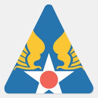 Fuerzas de Symbyan Pegatina Triangular