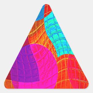Función reconstruida f (x) calcomania trianguladas personalizadas