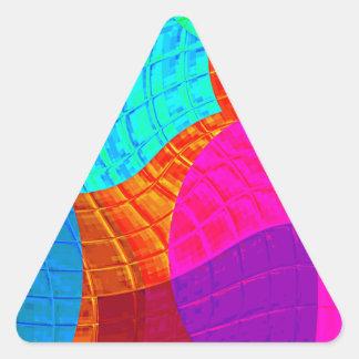 Función reconstruida f (x) pegatina triangular
