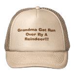 ¡Funcionamiento conseguido abuela encima por un re Gorro De Camionero