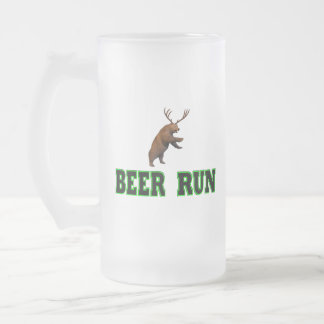 Funcionamiento de la cerveza jarra de cerveza esmerilada
