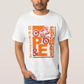 Funcionamiento de P&E - camiseta del motocrós