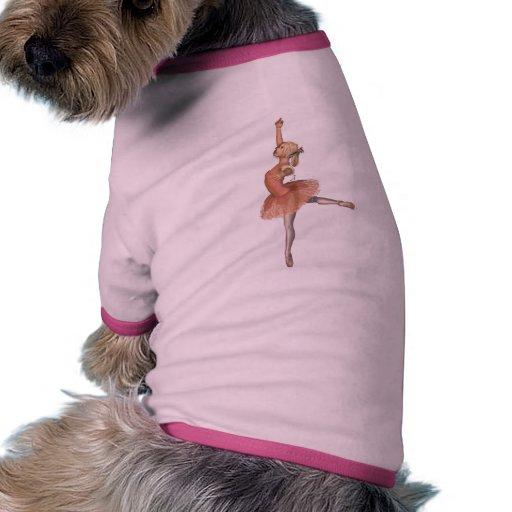 Funcionamiento del ballet - actitud de la actitud camisa de mascota