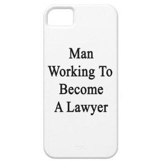 Funcionamiento del hombre a hacer un abogado iPhone 5 funda