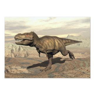Funcionamiento del Tyrannosaurus - 3D rinden Invitación 12,7 X 17,8 Cm