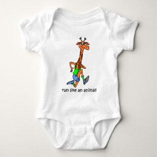 Funcionamiento divertido body para bebé