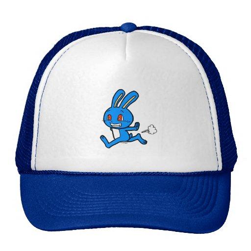 Funcionamiento lindo del conejo gorra