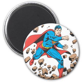 Funcionamientos del superhombre en escombros imán redondo 5 cm