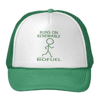 Funcionamientos en combustible biológico renovable gorra
