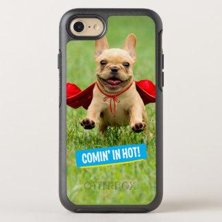 Funcionamientos lindos del super héroe del dogo funda OtterBox symmetry para iPhone 8/7
