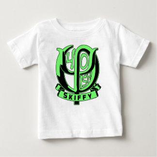 Funcionario de Skiffy 40.o, niño Camiseta De Bebé