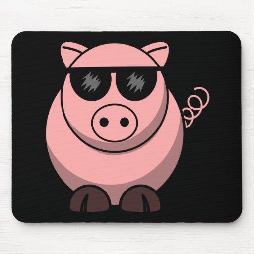 Funcionario del cerdo de la cultura alfombrillas de ratones