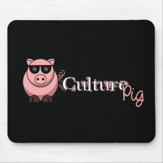 Funcionario del cerdo de la cultura tapetes de ratones