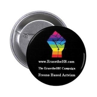 ¡Funcionario EraseTheH8! Botón de la campaña (1)