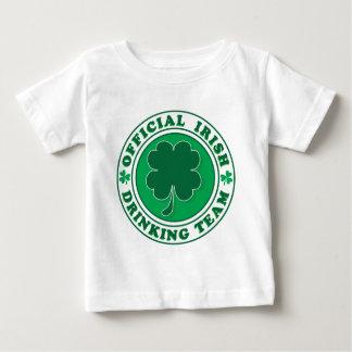 Funcionario-Iris-Beber-Equipo Camiseta De Bebé