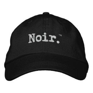 Funcionario Noir Gorras Bordadas
