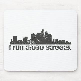 Funciono con estas calles (Los Ángeles) Alfombrilla De Ratón