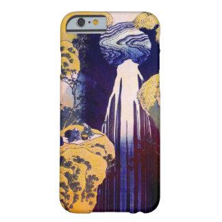 Funda Barely There iPhone 6 木曽路の滝, cascada del Kiso-camino, Hokusai, Ukiyo-e