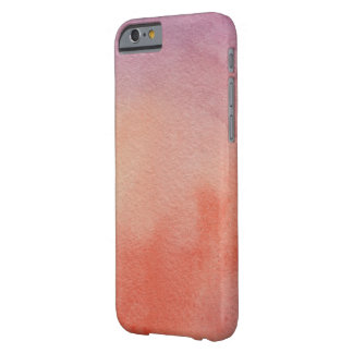 Funda Barely There iPhone 6 Acuarelas hermosas del extracto de la primavera