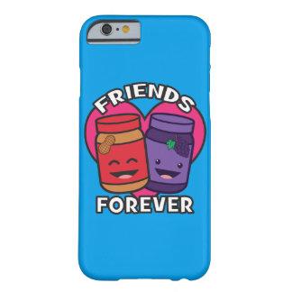 Funda Barely There iPhone 6 Amigos para siempre - mantequilla de cacahuete y