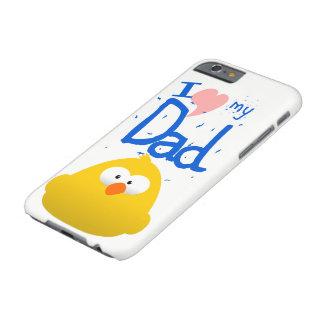 FUNDA BARELY THERE iPhone 6  AMO A MI PAPÁ