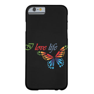 Funda Barely There iPhone 6 Amo la vida Iphone